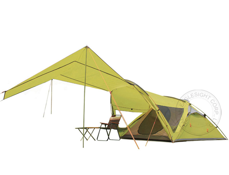 Unique 68D Breathable Waterproof Ripstop Family Camping Tent