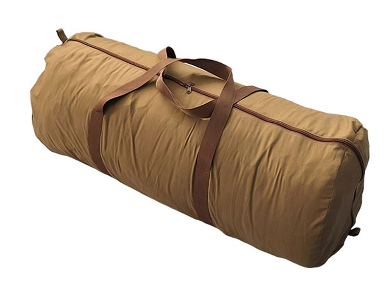 Camping Flannel Canvas Sleeping Bag Hollow Fiber Bonded Sleeping Bag
