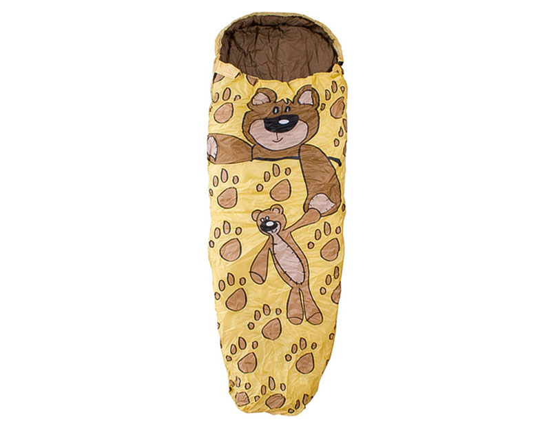 Chemical Free Cute Animal Shaped Cotton Kid Sleeping Bag