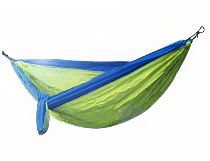 Quick Dry Double Parachute Nylon Outdoor Camping Hammock Light Weight Heavy Duty Hammock