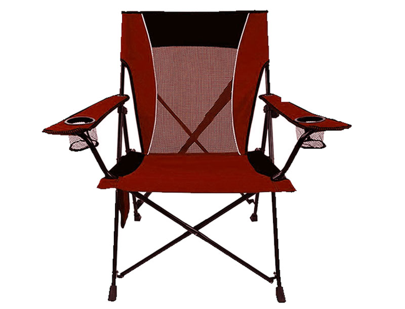 Oxford Lightweight Portable Foldable Camping Beach Chair With Cup Holder and Armrest