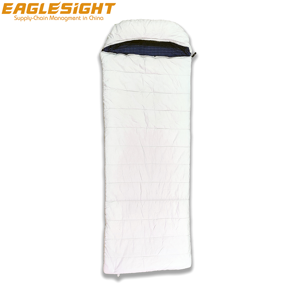 Gemini Cotton 2021 New Organic Cotton Sleeping Bag Envelope Shape Sleeping Bag Connectable