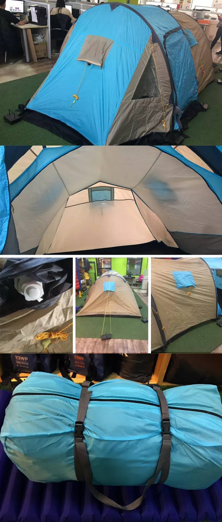 4 Person Family Camping Inflatable Tent