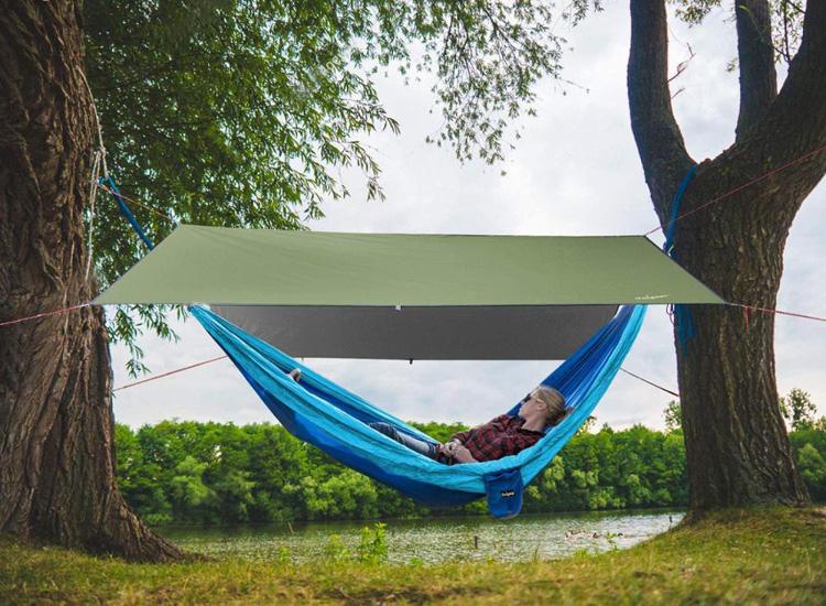 Outdoor Beach Sun Shelter Camping Tarp
