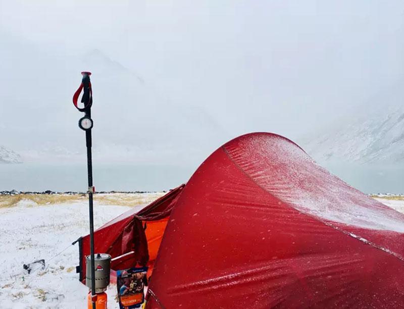 15D Nylon Ultralight Hiking  Tunnel Tent