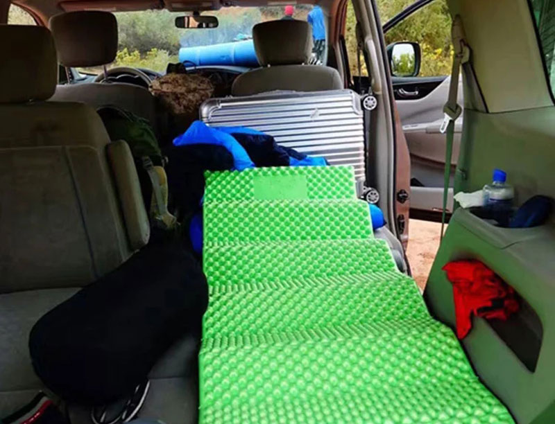 Lightweight IXPE Foldable Sleeping Camping Form Mat