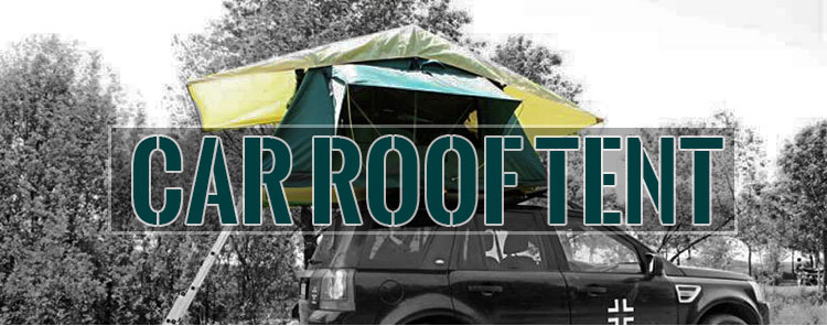 4WD Aluminum Soft Shell Rooftop Tent