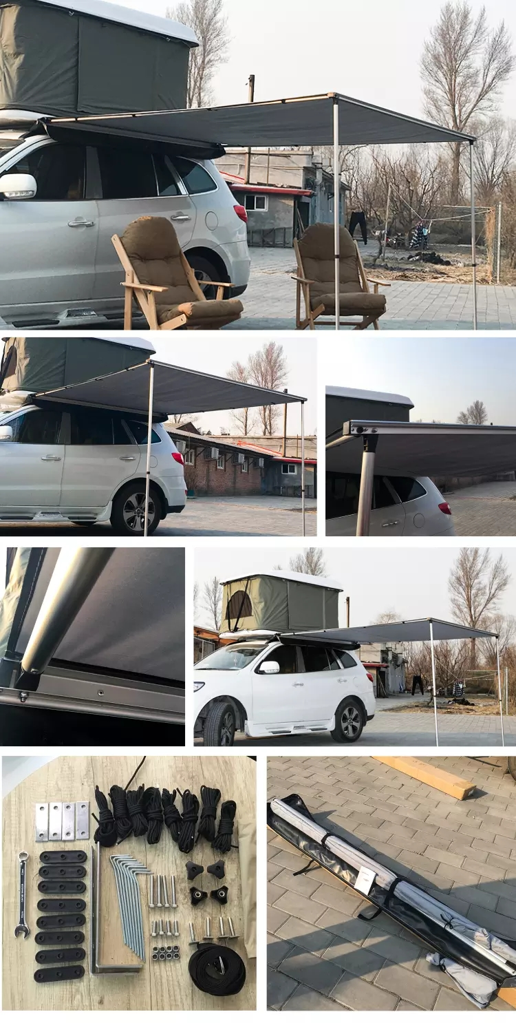Sun Shade 4x4 4wd Car roof top tent with Side Awning