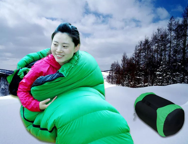 Outdoor Ultralight 0 Degree Waterproof Down Sleeping Bag