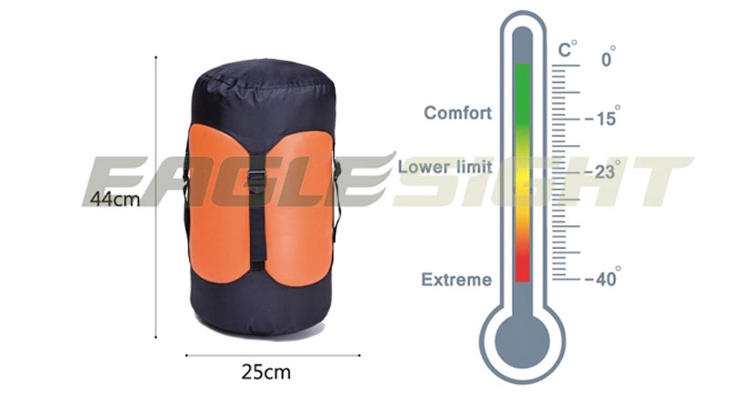 20D Nylon Goose Down Sleeping Bag