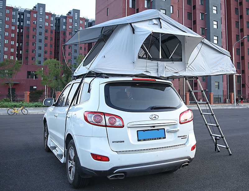 4WD Double layer aluminum Folding Car roof top tent