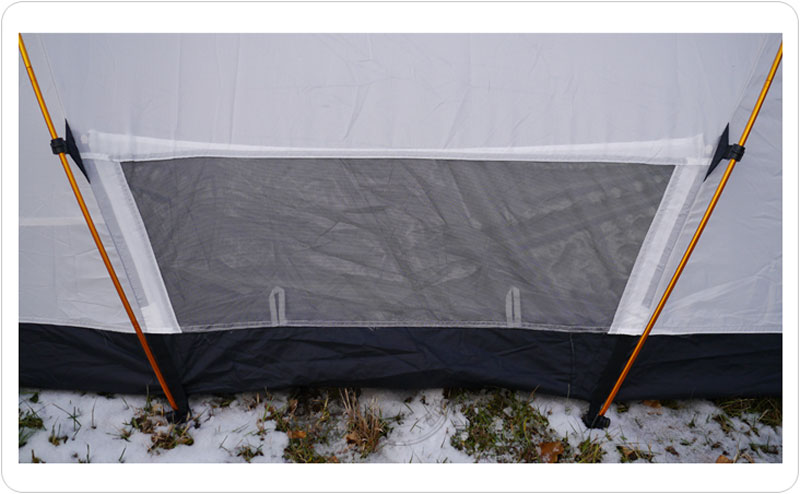 2 Person Silnylon Ultralight 40D Nylon Mountain Tent