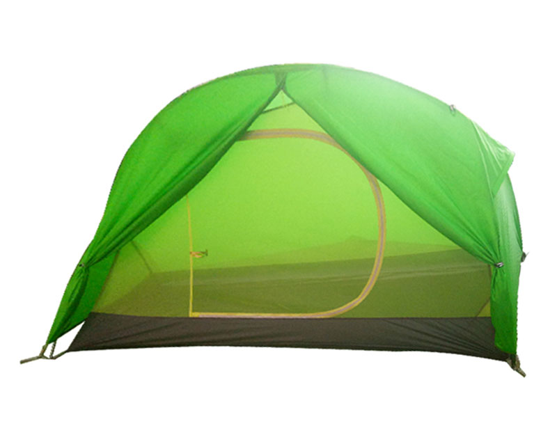 40D Nylon One Side Silnylon camping 2 Men Tent