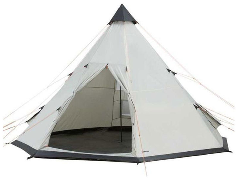 3.5m Large Luxury Glamping Waterproof Tipi Bell Tent
