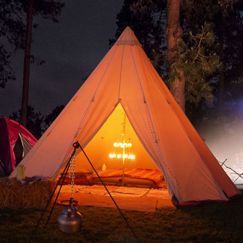 3m 4m 5m 6m Luxury Glamping Teepee Bell Tents