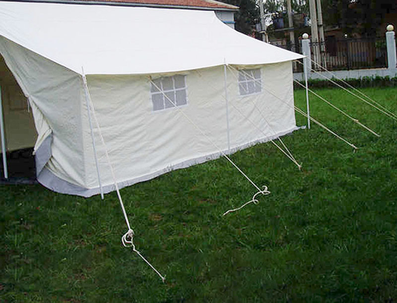 Winterized Double Fly Canvas Family Relief Tent