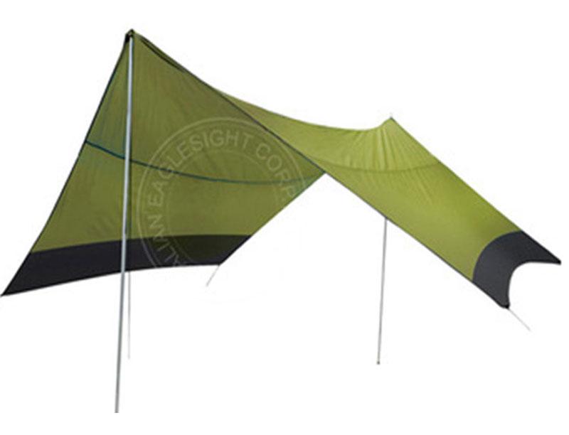 Waterproof Portable Multifunctional Outdoor Traveling Shelter Rain Tarp