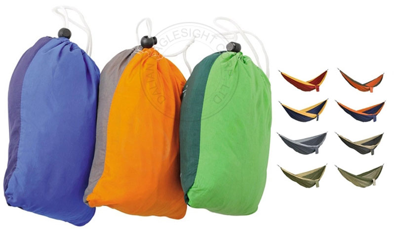 Nylon Parachute Hammock With Tree Straps