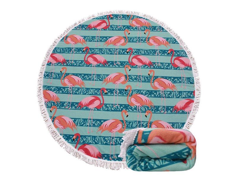 150cm Giant Round Tassel Beach Blanket