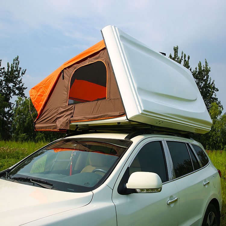 ABS Plastic One Side Open Style Hard Shell Car Roof Top Tent