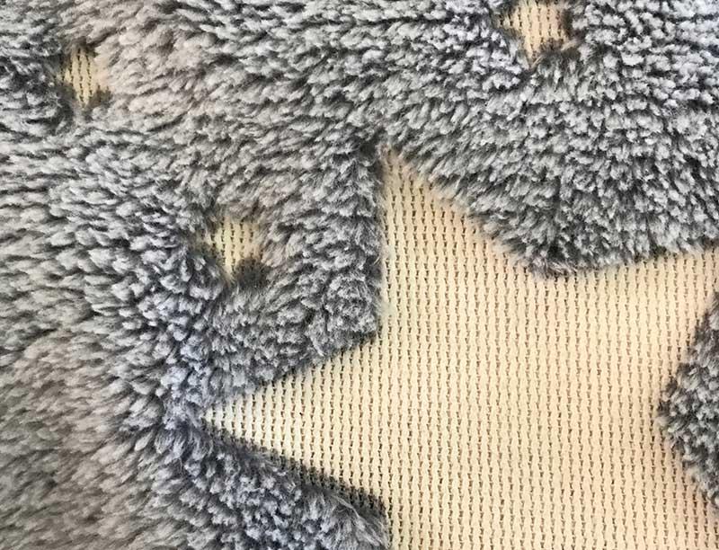 forestar glow in the dark fluffy plush furry throw blanket