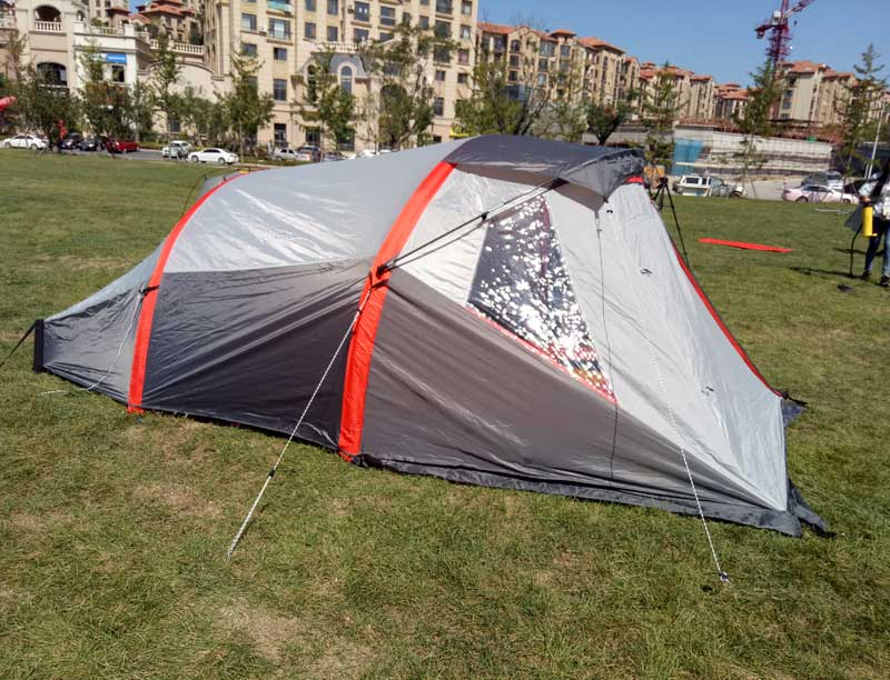 4 Person 2 Inflatable Pole Inflatable Camping Tent