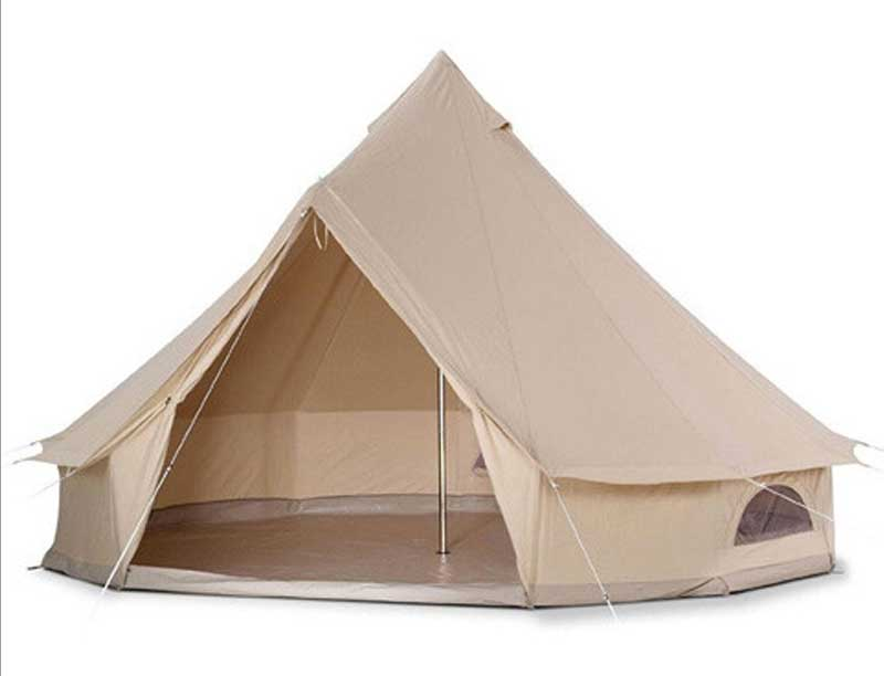3 m Canvas Bell Tent One Living Room Family Tent