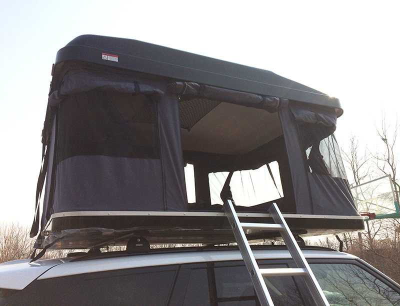 Custom Pop Up Hard shell roof top tent