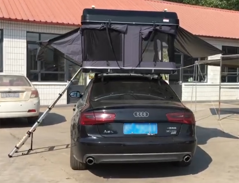 Best Selling Hard Shell Roof Top Tent 4WD Car Tent Customized Roof Toptent