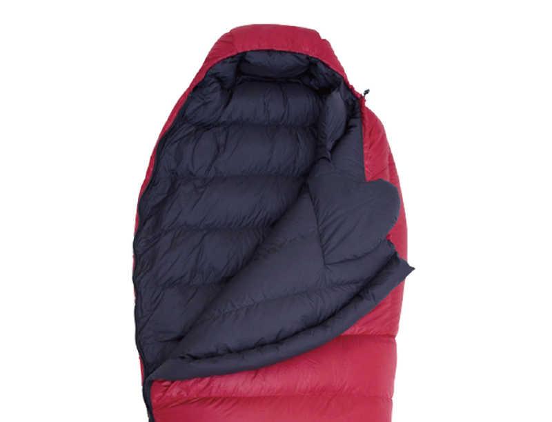 4 Season Waterproof Ripstop Nylon Natural Down Sleeping Bag