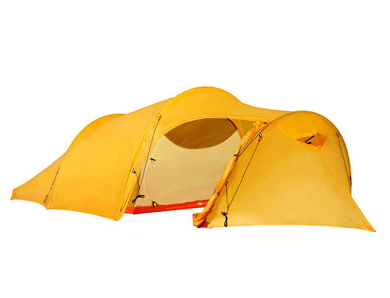 10D Nylon 2 Sides Silicon Coated Waterproof Tunnel Tent