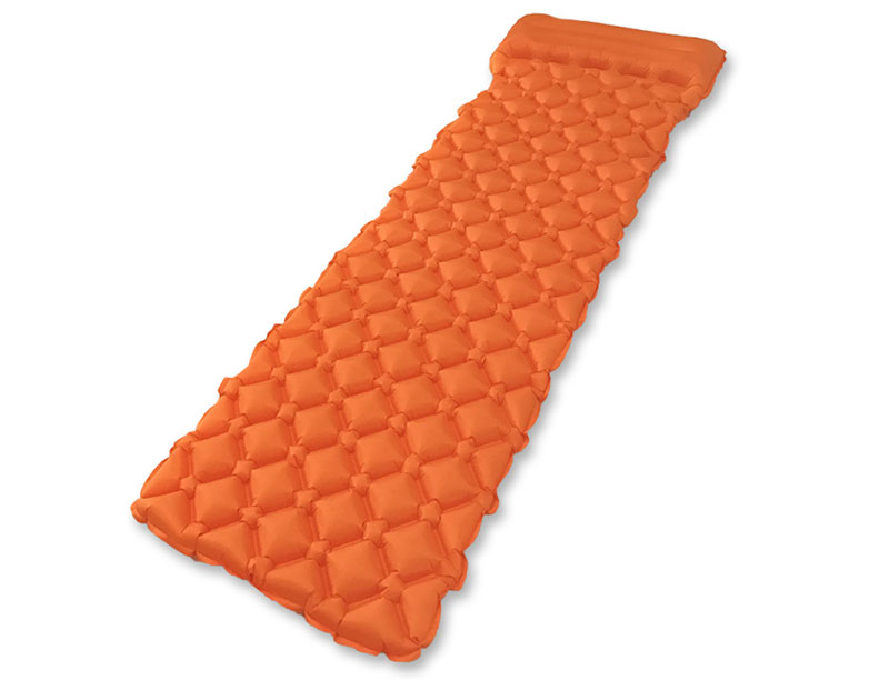 Light Weight Air Pad with Pillow Camping Inflatable Sleeping Pad With Pillow