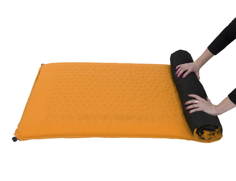Self-Inflating Foam Sleeping Pad For Camping
