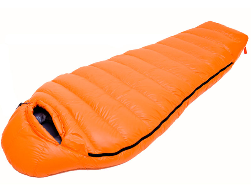 20D Nylon Goose Down Sleeping Bag Ripstop Water Resistant Sleeping Bag