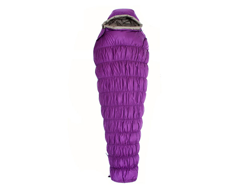 4 Season Down Cold Weather Camping Sleeping Bag Waterproof Nylon Sleeping Bag
