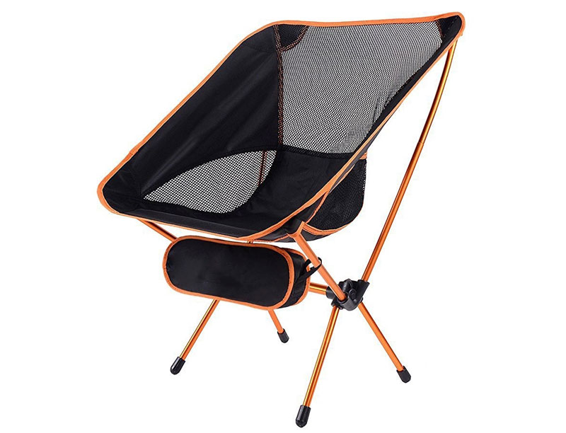 Portable Easy to Carry Light Weight Ripstop Polyester Foldable Beach Camping Chair
