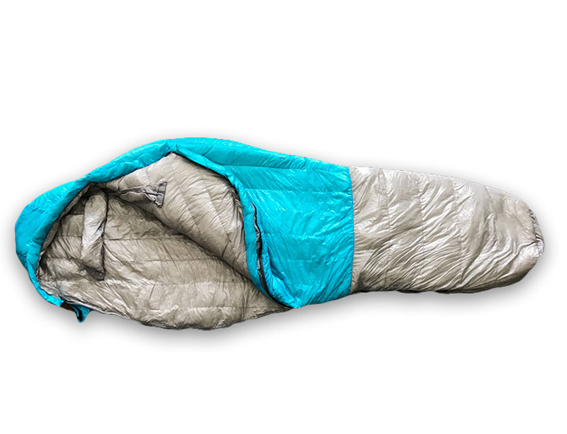 Filling Power 850 1000g Goose Down Mountaineering Water Resistant Sleeping Bag