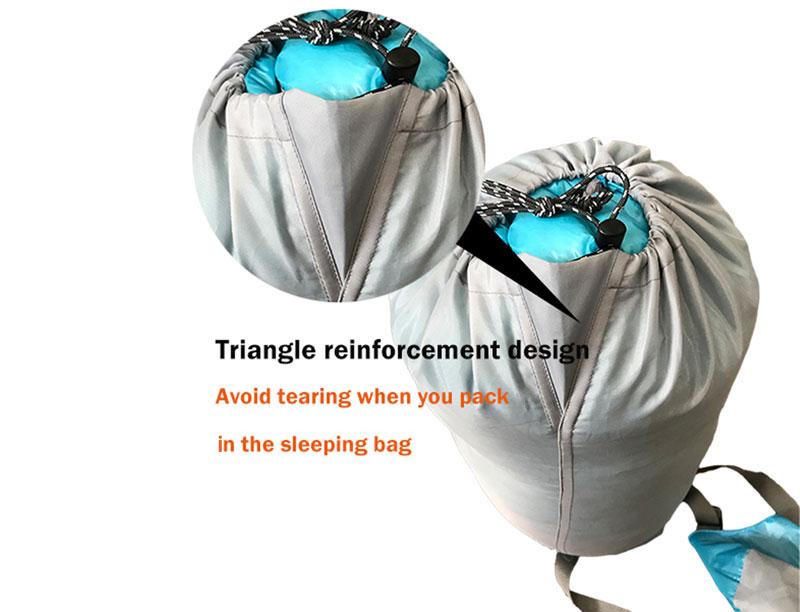 Filling Power 850 1000g Goose Down Mountaineering Water Resistant Sleeping Bag