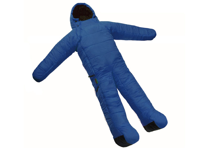Wearable Water Resistant Breathable Body Sleeping Bag with Arms and Legs
