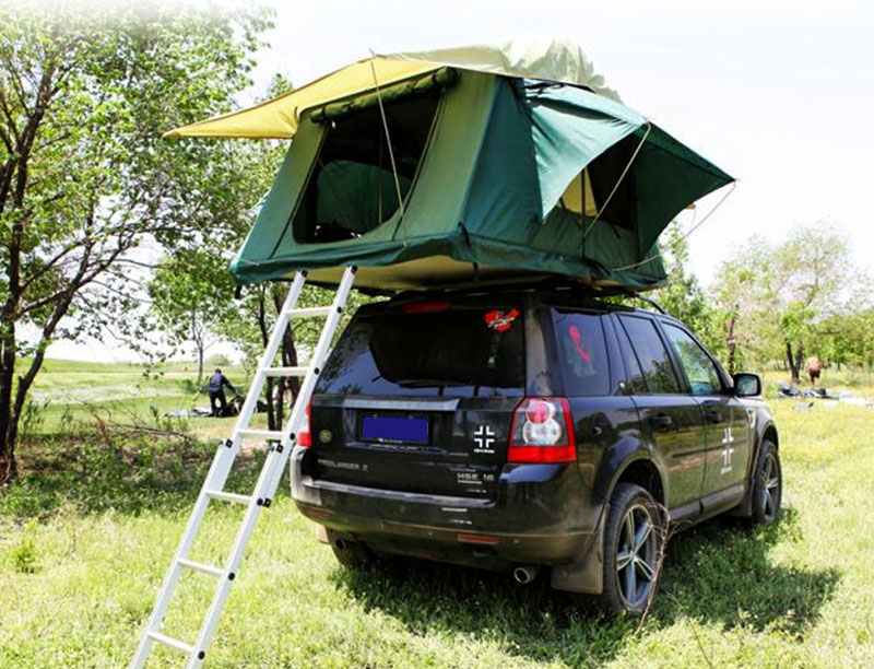 4WD SUV Pick-up Truck All Season Aluminum Frame  Soft Shell Roof Top Tent