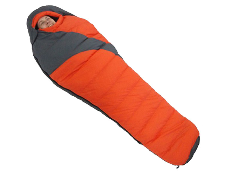 4 Season Portable Camping Goose Down Sleeping Bag Extreme Weather Sleeping Bag
