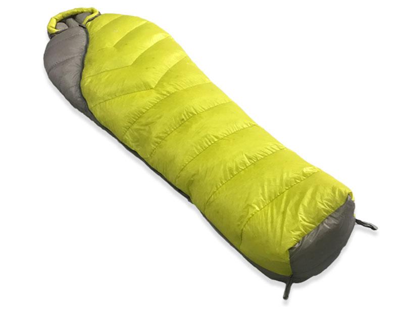 420T Nylon 4 Season White Goose Down Mummy Sleeping Bag