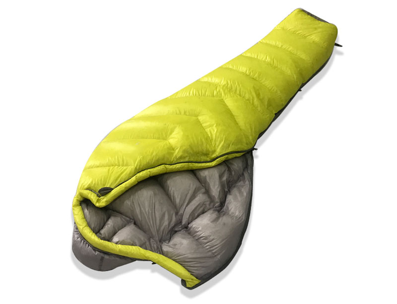 420T Nylon 4 Season White Goose Down Mummy Sleeping Bag