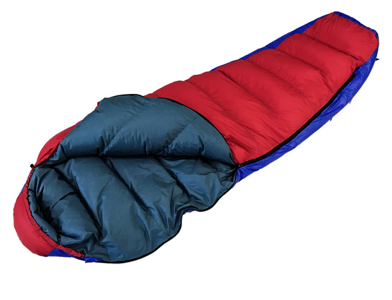 Extreme Weather 1250g Filling Goose Down Sleeping Bag Backpacking Sleeping Bag