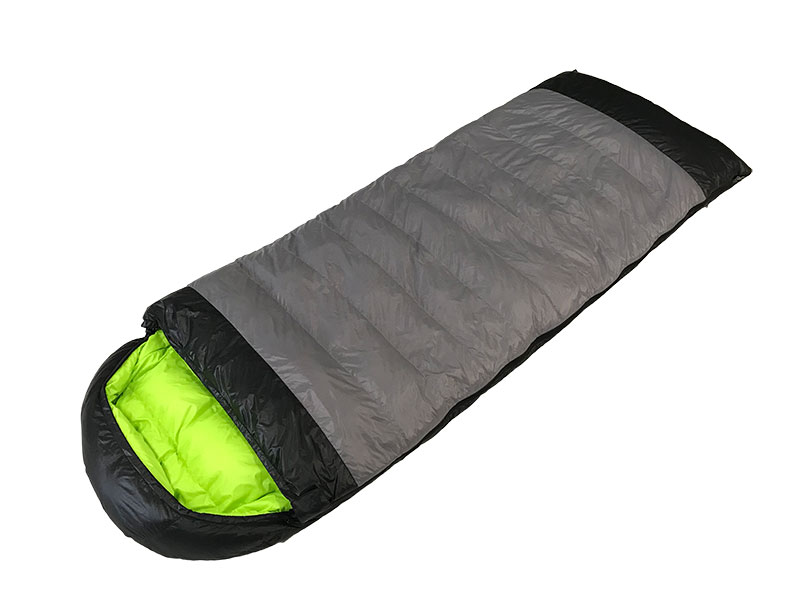 Outdoor Hiking 320T Nylon Sleeping Bag Lightweight Duck Down Sleeping Bag