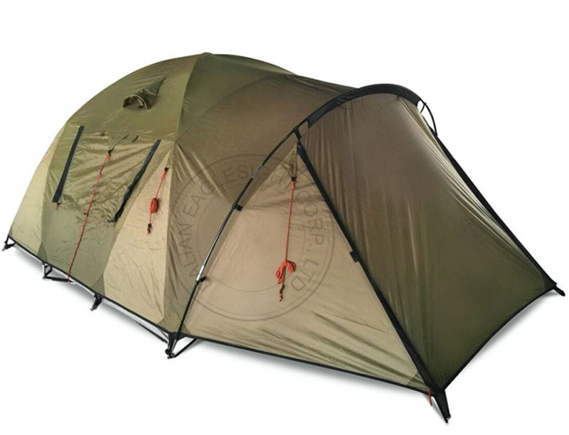3 Man 40D Nylon Waterproof Tent Ripstop Tent Tunnel Tent For Camping