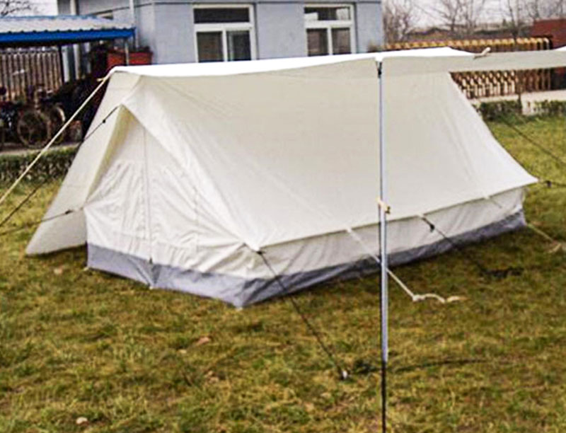 Double Fly Waterproof Canvas Tent