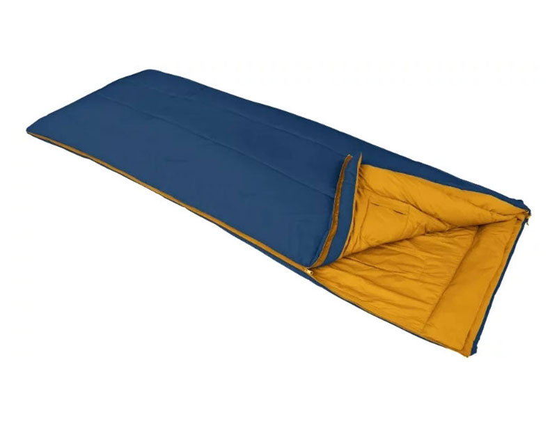 Warm Weather Polyester Camping Sleeping Bag Lightweight Sleeping Bag