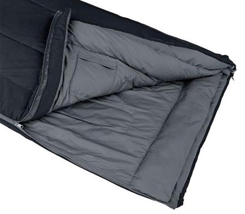 Warm Weather Polyester Camping Sleeping Bag Lightweight Sleeping Bag