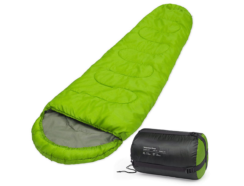 190T Polyester Synthetic Insulation Sleeping Bag